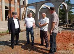 строительство мечети в Черкесске