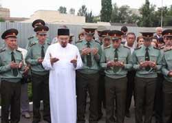 саратовский муфтий и офицеры