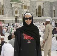 ведущая мусульманка
