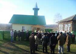 мечеть в башкирском селе