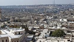 минарет мечети в Алеппо