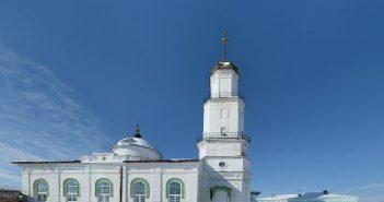 мечеть в Троицке