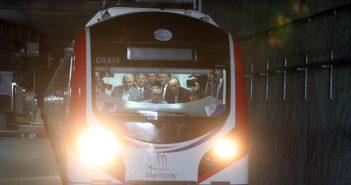 Открытие тоннеля «Мармарай» в Стамбуле