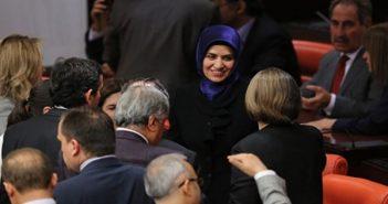 Парламентарии в хиджабе