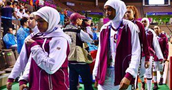 Катарские баскетболистки: без хиджаба не играем
