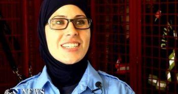 Хиджаб работе не помеха