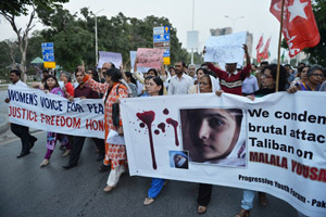 Малала Юсуфзай: «Я имею право ходить в школу»