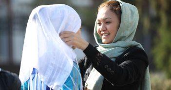 Муфтий Кыргызстана: только не черный хиджаб