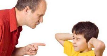 Ошибки при воспитании детей