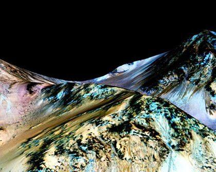 НАСА: на Марсе есть сезонные потоки воды