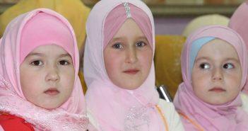 Юные мусульманки соревновались в чтении Корана