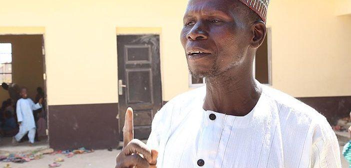 Учитель из Нигерии получил здание для школы