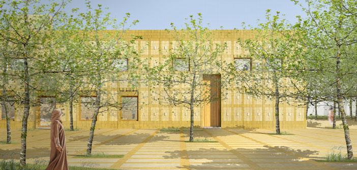 В мечети Нижнекамска бетонируют пол