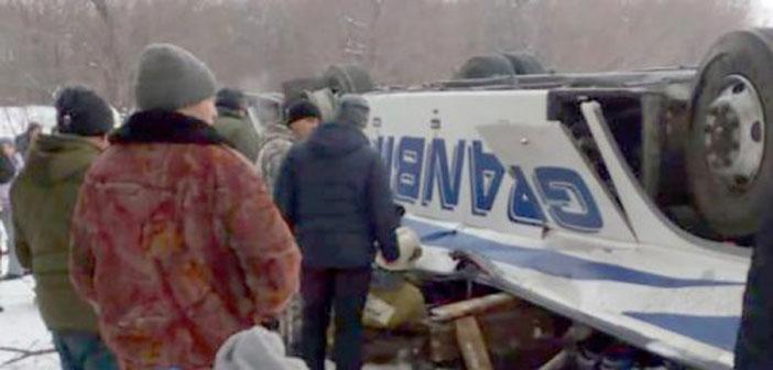 Полицейские спасли пассажиров автобуса
